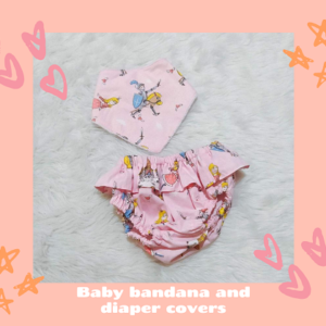 Bib Diaper Cover_Princess