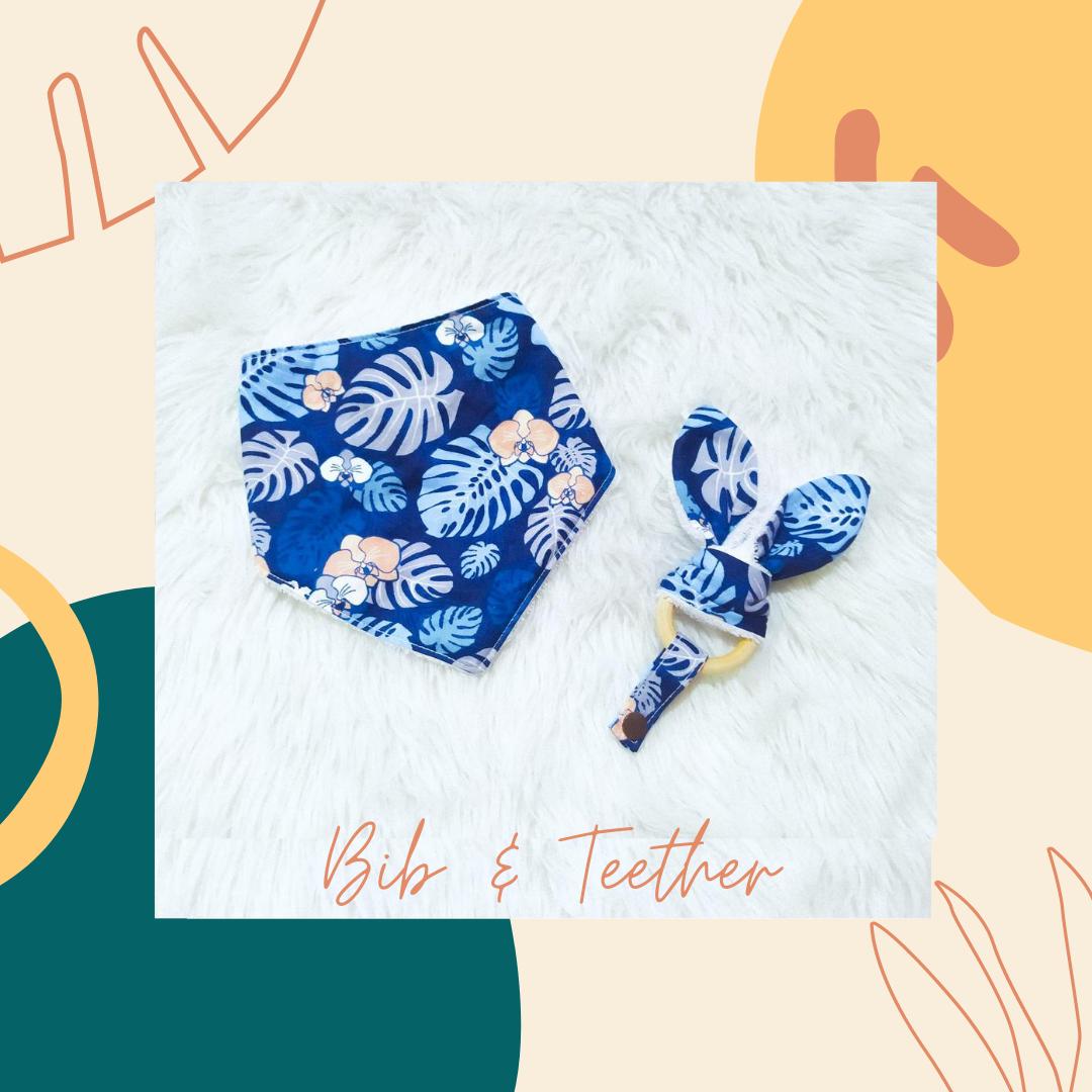 Bib Teether _ Leaves
