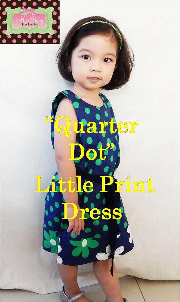 mombabyfabric-little-print-dress-quarter-dot-blue-green