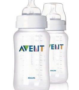 Philips AVENT feeding bottles 2x 11oz 330ml